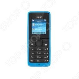 фото Мобильный телефон Nokia 105 Cyan, Мобильные телефоны