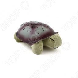 фото Ночник-проектор «Музыкальная черепаха — Звездное небо», Ночники