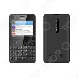 фото Мобильный телефон Nokia Asha 210 Dual Sim Black, Мобильные телефоны с 2-я sim-картами