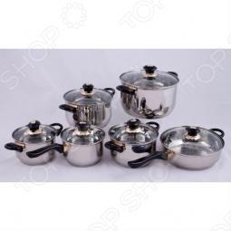 фото Набор посуды (12 предметов), Наборы посуды для готовки