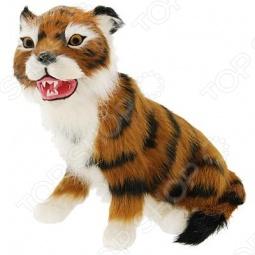 фото Сувенир из меха «Тигр сидячий» T2020Ok, Чучела животных. Сувениры из меха