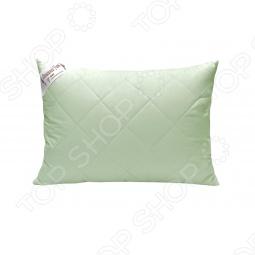 фото Подушка из бамбука стеганная Домашний уют. Размер: 68х68, Классические подушки