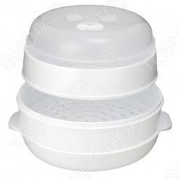 фото Пароварка для свч двухуровневая Bradex «Вкус И Польза», Аксессуары для микроволновых печей