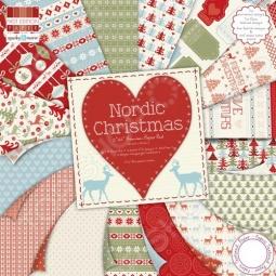 фото Набор бумаги Trimcraft Скандинавское Рождество, купить, цена