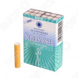 фото Фильтр-картридж Supersmoker Mentol Zero, Электронные сигареты и фильтры