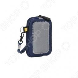 фото Чехол универсальный для фотокамер и mp3 плееров Case Logic Unz-2 Blue/white, Защитные чехлы для плееров
