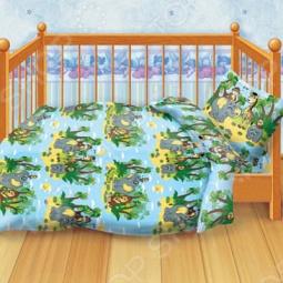 фото Комплект постельного белья Кошки-Мышки Африка, Детские комплекты постельного белья