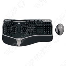 фото Клавиатура беспроводная с мышью Microsoft Wireless Natural Ergonomic Desktop 7000, Комплекты: клавиатуры и мыши