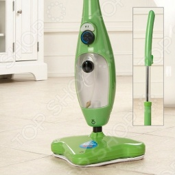 фото Швабра паровая H2O MOP X5 Elite зеленая, Пароочистители