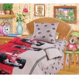 фото Комплект постельного белья 4You «Формула F1», Детские комплекты постельного белья
