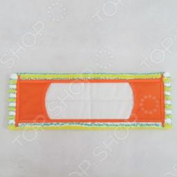 фото Насадка универсальная из микрофибры для плоской швабры Золушка H08-Mf040(H), Швабры и щетки