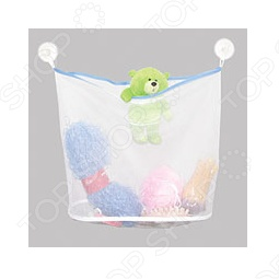 Сетка для игрушек и мелочей в ванную