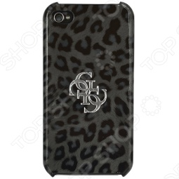 фото Чехол Guess Hard Case Leopard Для Iphone 4S, Защитные чехлы для iPhone
