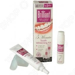 фото Отбеливающий комплекс Brilliant 5 Минут, Отбеливающие средства для зубов