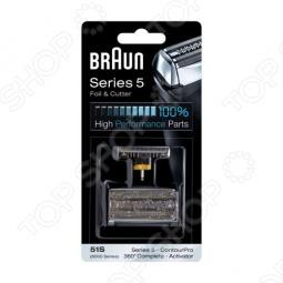 фото Сетка и блок Braun 51S, Аксессуары приборов для индивидуального ухода