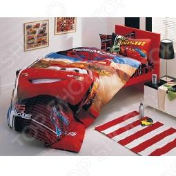 фото Комплект постельного белья TAC The Cars Mc Queen, Детские комплекты постельного белья