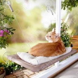 фото Лежанка подвесная для кошек Bradex «Теплое Местечко», Товары для животных
