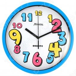 фото Часы настенные Marmiton «Разноцветные Цифры», Часы настенные
