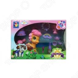 фото Пони с аксессуарами для вечеринки 1 Toy Т56605, Игровые наборы для девочек