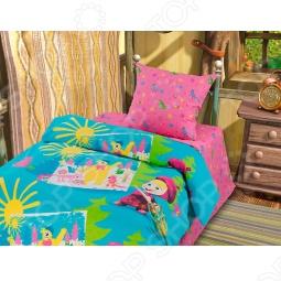 фото Комплект постельного белья Непоседа Маша-Художница, Детские комплекты постельного белья