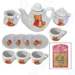 фото Набор посуды для детей Маруся Любимый Мишка, Посуда для детей