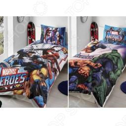 фото Комплект постельного белья TAC Marvel Heroes 2011, Детские комплекты постельного белья
