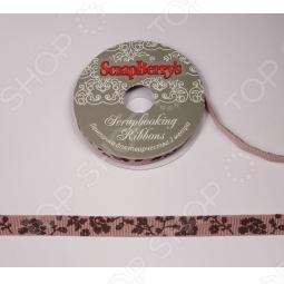 фото Лента с коричневым принтом Scrapberrys Scb 112037602, купить, цена