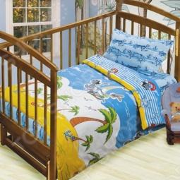 фото Комплект постельного белья Непоседа На Острове, Детские комплекты постельного белья