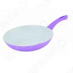фото Сковорода со спиральным дном. Цвет: фиолетовый, купить, цена