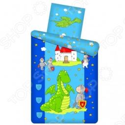 фото Комплект постельного белья Непоседа Рыцарь, Детские комплекты постельного белья