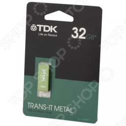 фото Флешка TDK Trans-It Metal Green 32Gb 2.0 Usb Flash Drive, Флешки