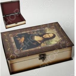 фото Набор из 2-х шкатулок Delta «Мона Лиза» Сл0006/2, Шкатулки