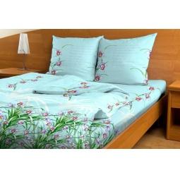 Комплект постельного белья с бамбуковыми волокнами. 1,5-спальный
