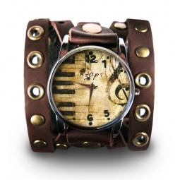 """Часы """"Фантазия"""", дизайнерский ремешок"""