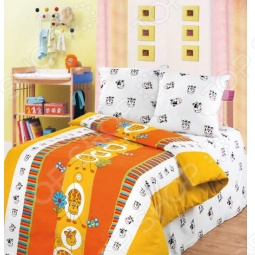 фото  Непоседа «Рыжик», Детские комплекты постельного белья