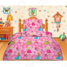 фото Комплект постельного белья Кошки-Мышки Принцессы, Детские комплекты постельного белья
