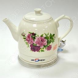 фото Чайник электрический из керамики Линда + Набор для оформления торта, купить, цена