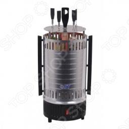 фото Электрошашлычница Saturn St-Fp 8560 Black, Шашлычницы электрические
