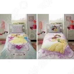 фото Комплект постельного белья TAC Princess Belle Heart, купить, цена