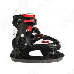 фото Коньки ледовые с хоккейными лезвиями Atemi Cross, купить, цена