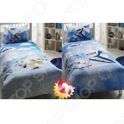 фото Комплект постельного белья TAC Талисманы «Сочи 2014», Детские комплекты постельного белья