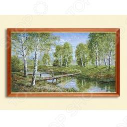 фото Картина «Зеленый шум», Картины. Панно