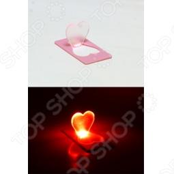 фото Свеча светодиодная карманная Drivemotion «Сердечко», Светильники светодиодные