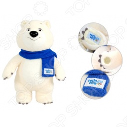 """Игрушка Белый мишка """"Sochi 2014"""" 32 см"""