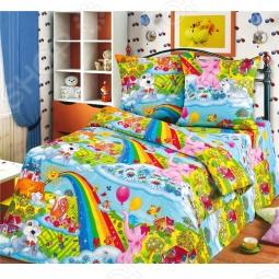 фото Комплект постельного белья Радуга Радуга, Детские комплекты постельного белья