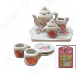 фото Набор посуды для детей Маруся Нежные Цветы, Посуда для детей
