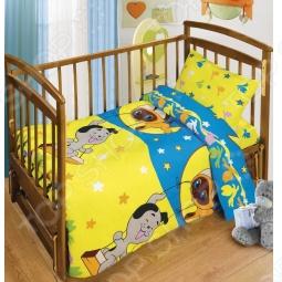 фото Комплект постельного белья Непоседа Лунные Качели, Детские комплекты постельного белья