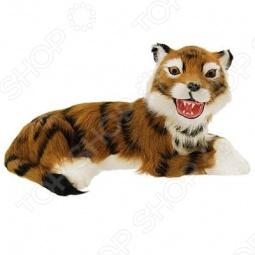 фото Сувенир из меха «Тигр лежащий» T2021Ok, Чучела животных. Сувениры из меха