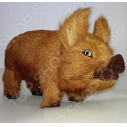 фото Сувенир из меха «Кабан», Чучела животных. Сувениры из меха