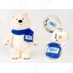 """Игрушка Белый мишка """"Sochi 2014"""" 25 см"""